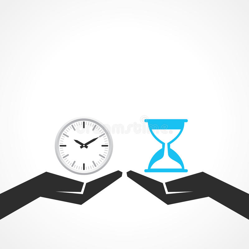 Save time concept stock illustration