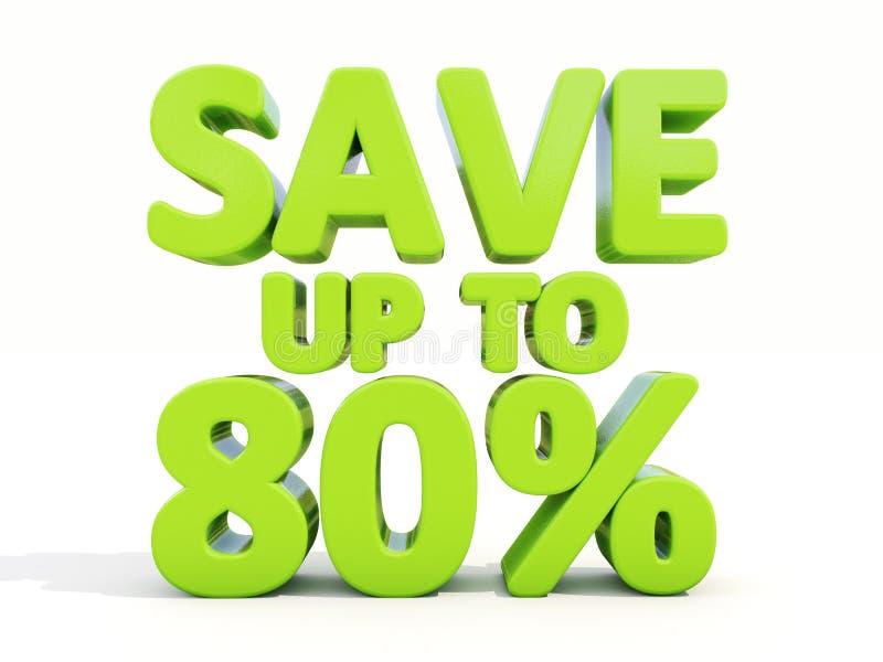 Save up to 80% royalty ilustracja