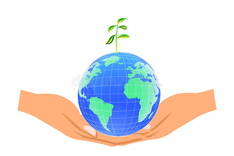 Save World Royalty Free Stock Image