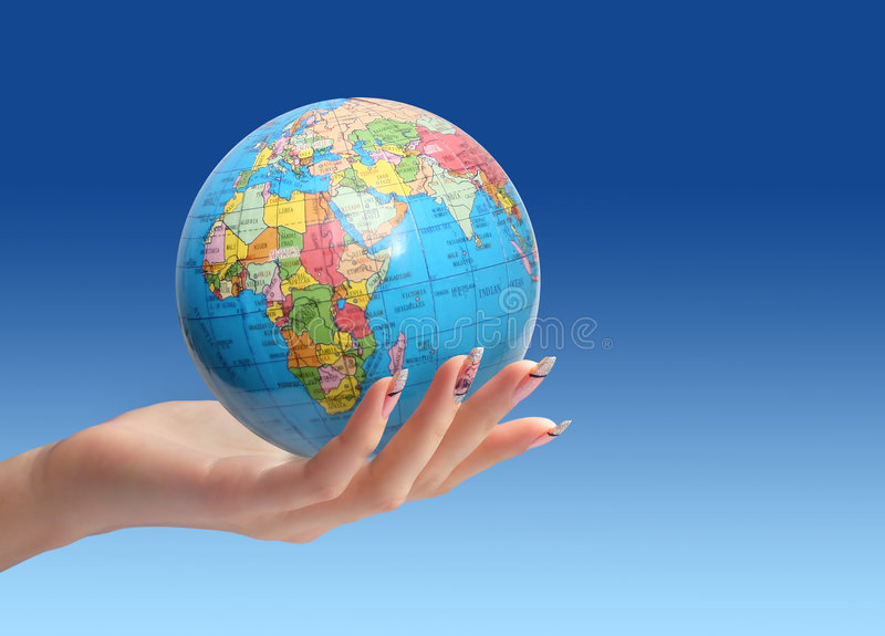 Download Save World Concept. Stock Images - Image: 5827304