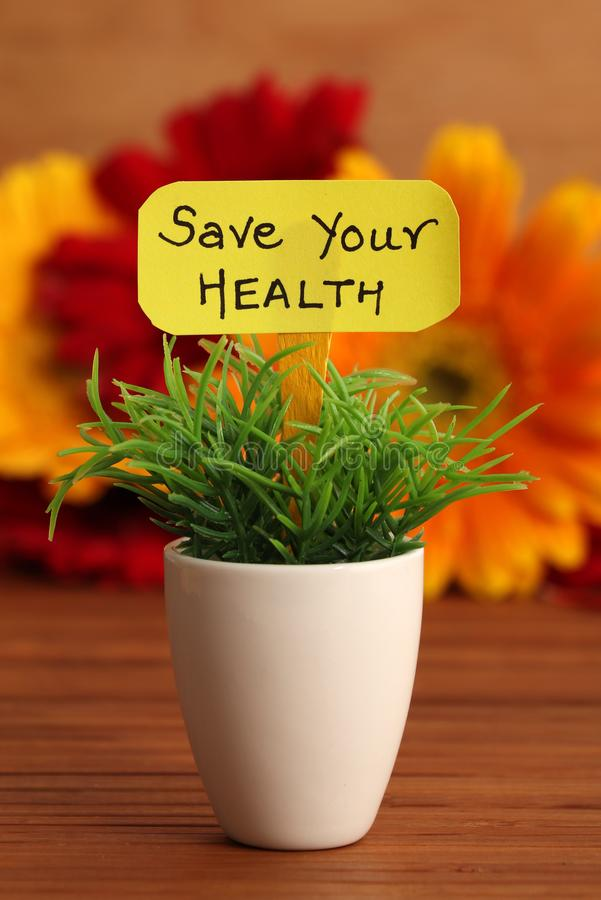 Save zdrowie zdjęcia royalty free