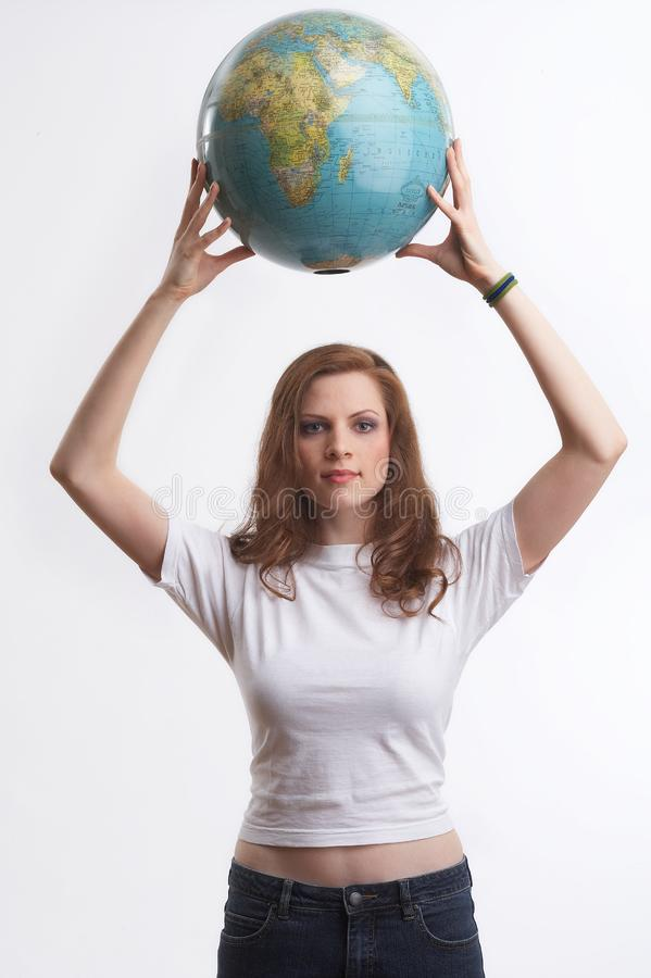 She saved the earth royalty free stock photo