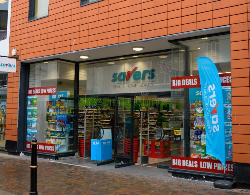 Savers Store Worcester fotografia stock libera da diritti