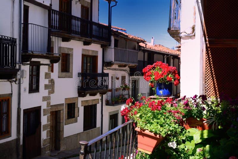Saveur de Candelario de l'ordre de Gredos en Espagne images stock