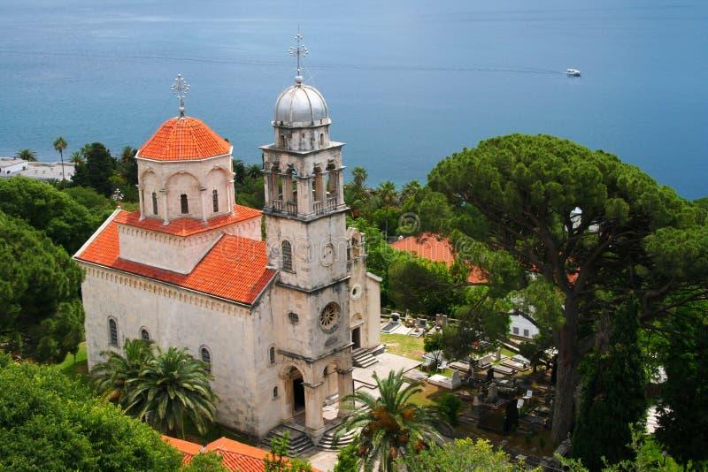 Savina Monastery Montenegro imagem de stock