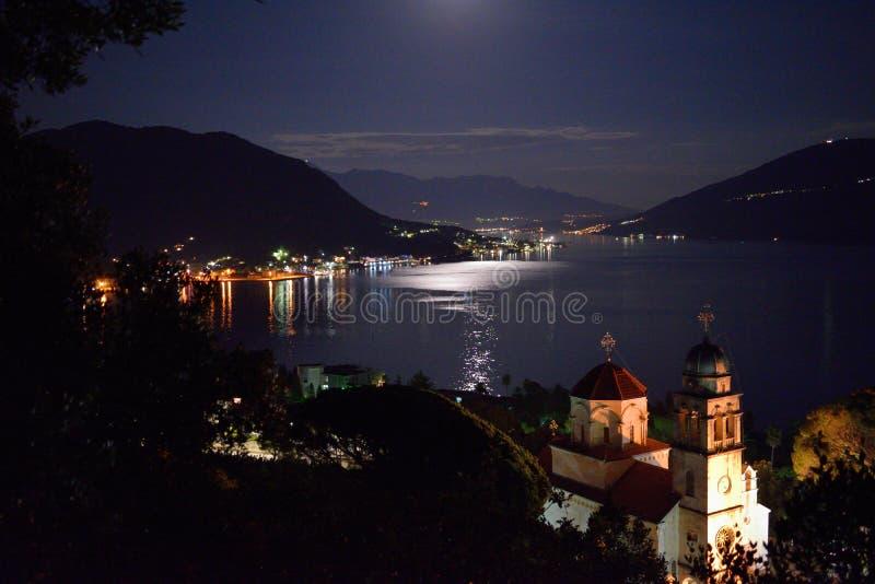 Savina monestry τη νύχτα στοκ φωτογραφία με δικαίωμα ελεύθερης χρήσης