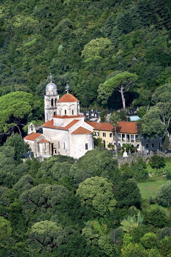 Savina ortodox monaster zdjęcia stock