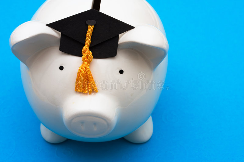 Saving For College Royalty Free Stock Photography