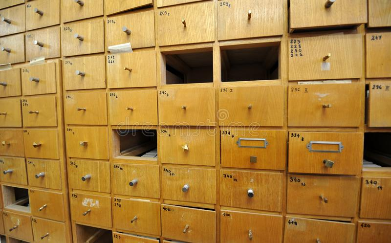 Saving documents royalty free stock photo