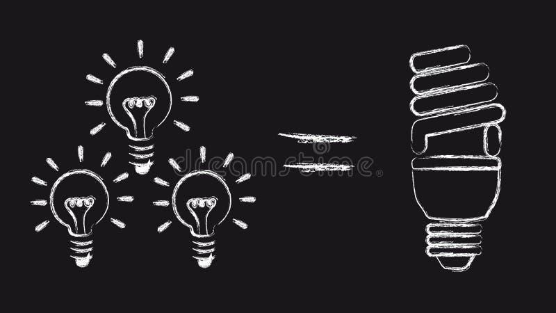 Download Saving energy stock vector. Illustration of inspiration - 23513928