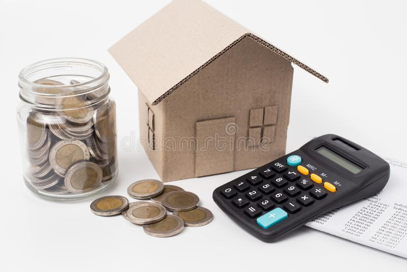 Saving money and finances concept royalty free stock photos