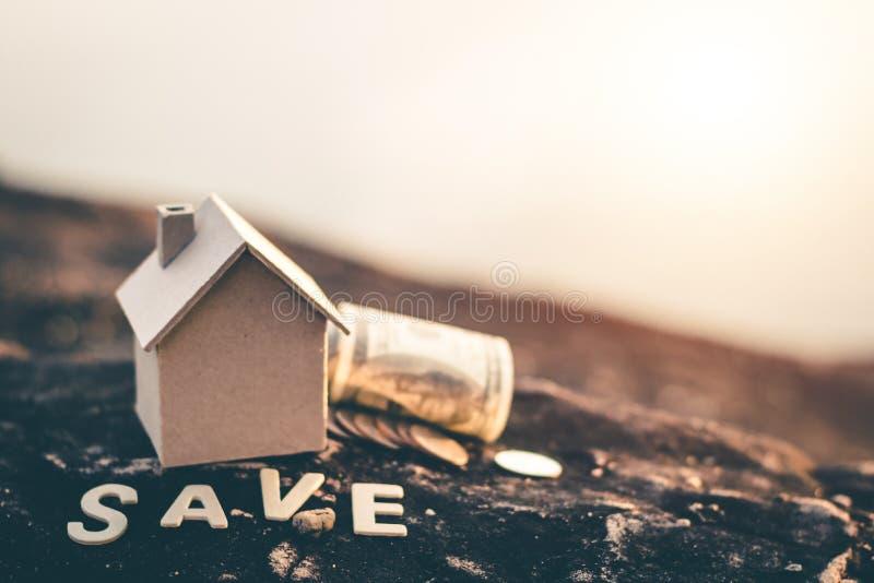Saving money for future use. Saving money for future use, sustainability concept royalty free stock photo