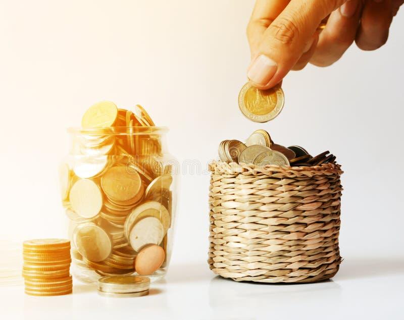 Saving money , save money saving concept. Banking for money saving royalty free stock photos