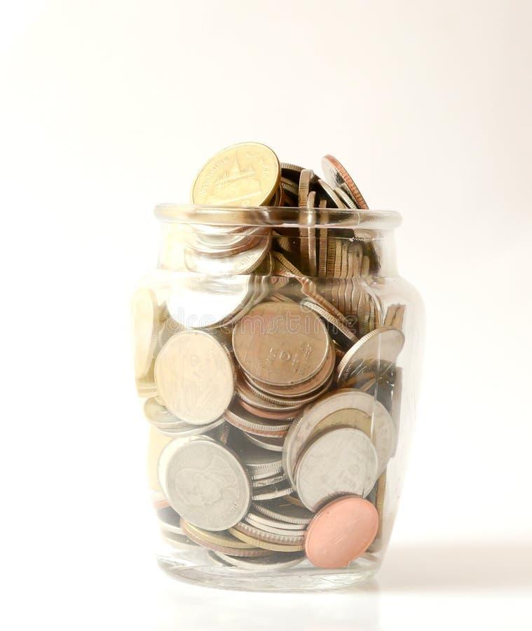 Saving money , save money saving concept. Banking for money saving stock photography