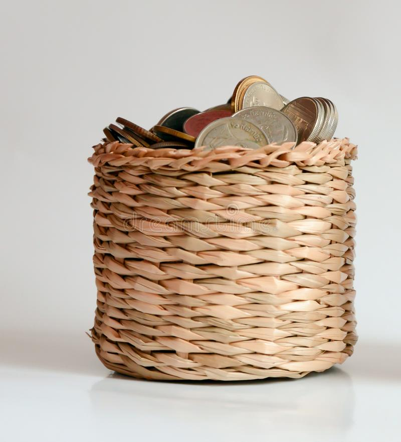 Saving money , save money saving concept. Banking for money saving royalty free stock image