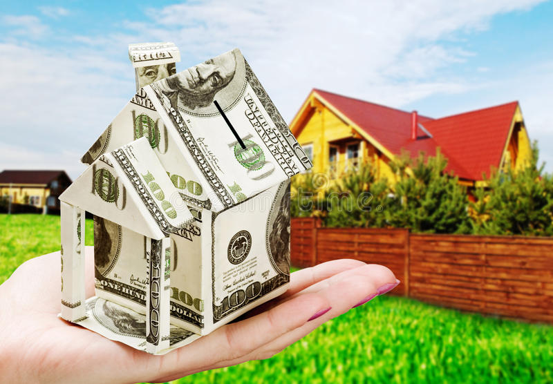 Download Saving Up Money For A New House Stock Image - Image: 22463969
