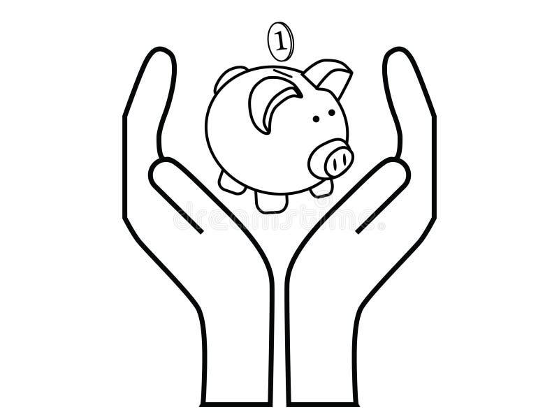 Savings royalty free illustration