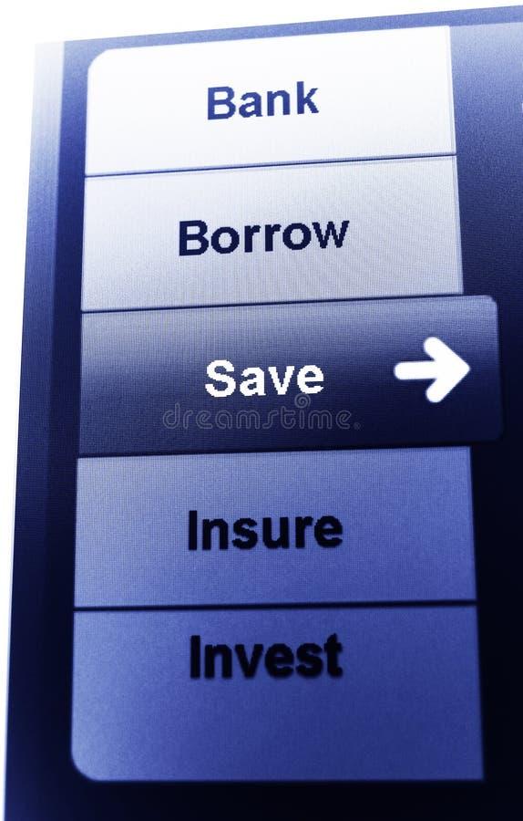 savings στοκ φωτογραφία