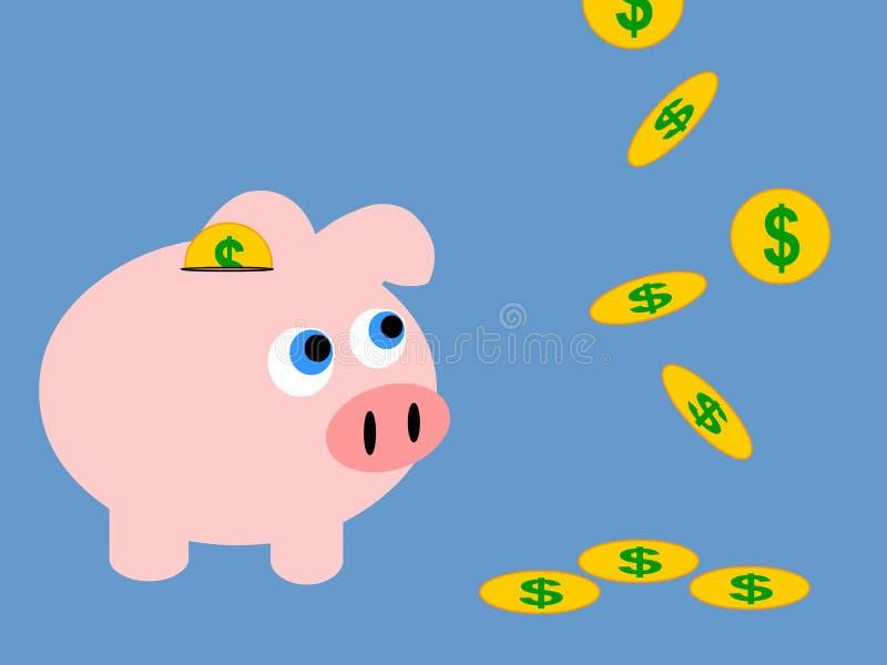 Download Savings stock illustration. Image of efficient, banking - 4804379