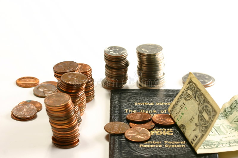 Download Savings Account stock image. Image of account, coin, penny - 1614815