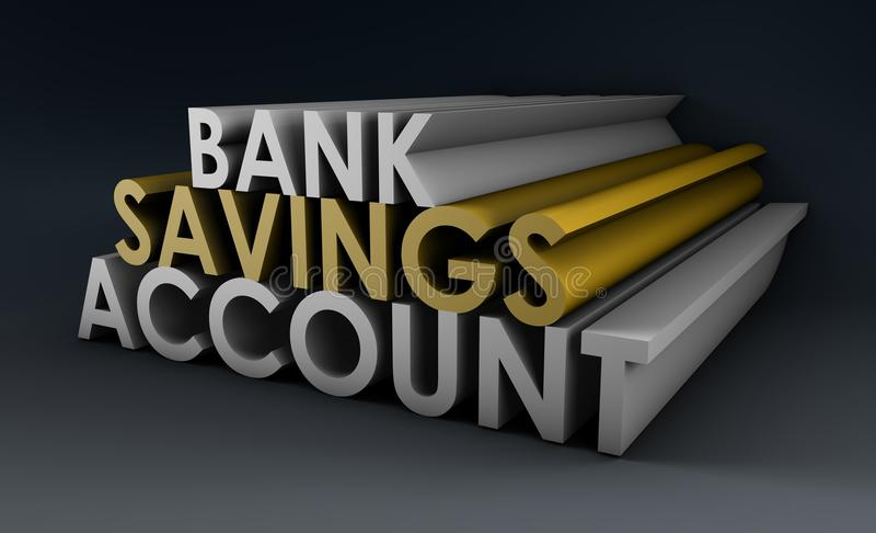 Savings Account stock illustration