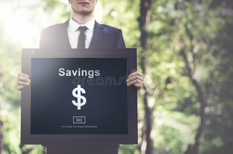 Savings bankowości wartości pieniądze budżeta gospodarki pojęcie zdjęcia stock