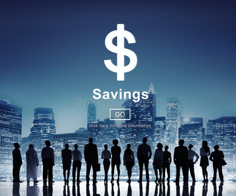 Savings bankowości wartości pieniądze budżeta gospodarki pojęcie zdjęcie stock