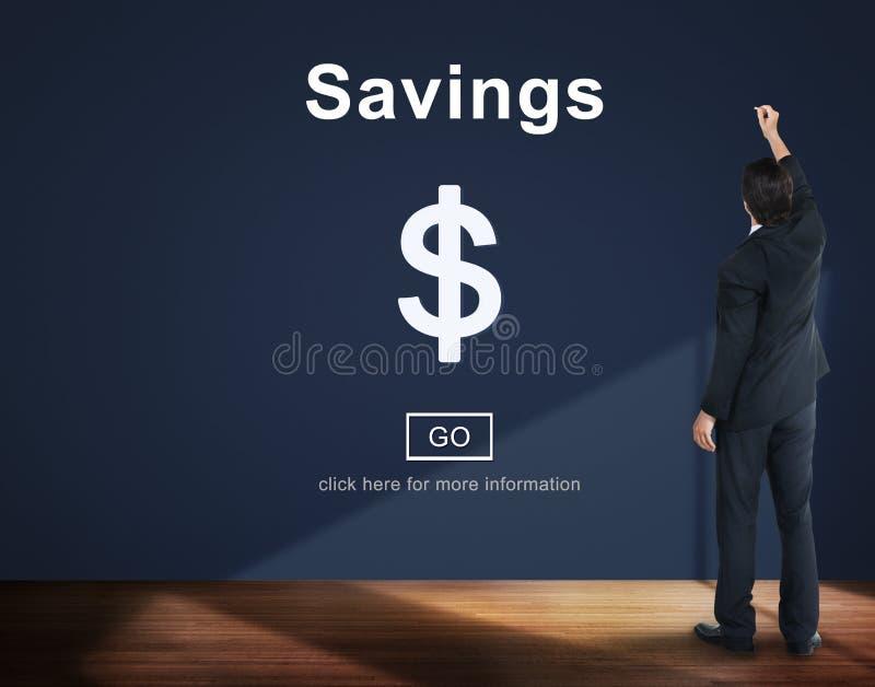 Savings bankowości wartości pieniądze budżeta gospodarki pojęcie zdjęcia royalty free