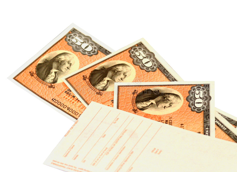 Savings Bonds 2 Stock Photo