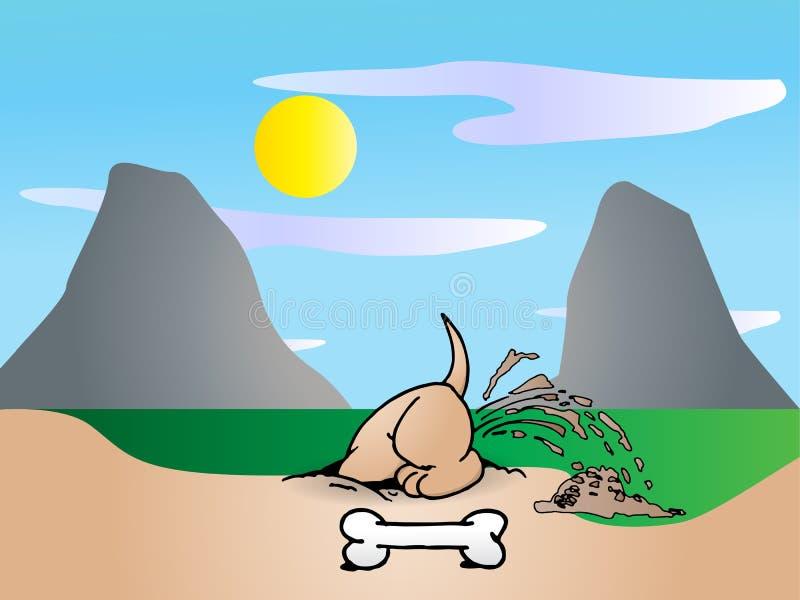 Download Savings bone stock illustration. Image of pets, happy - 14652300