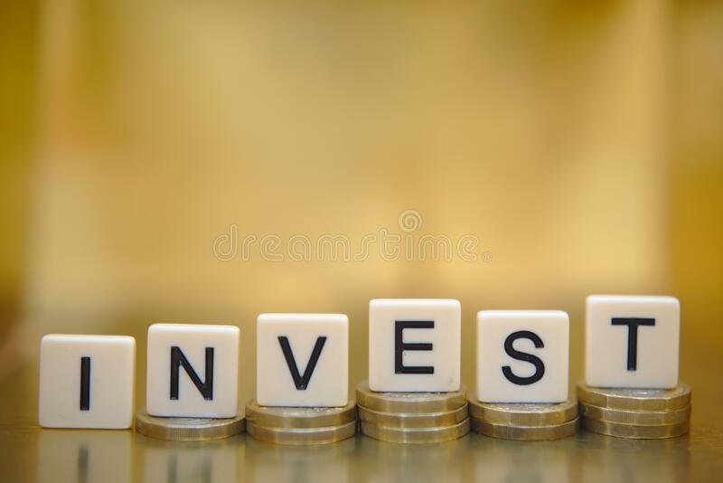 Savings and investment concept to build wealth royalty free stock photo