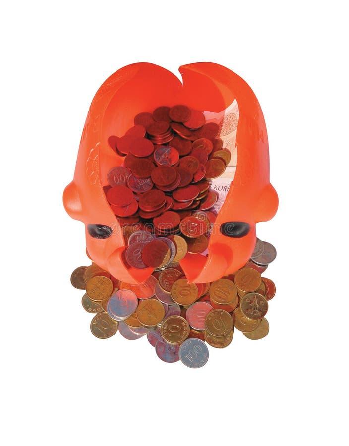 Savings. Piggy Bank royalty free stock image