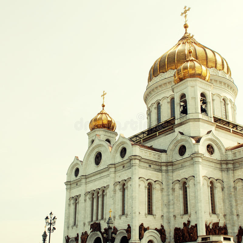 savior της Μόσχας Ρωσία εκκλησιών Χριστού στοκ φωτογραφία με δικαίωμα ελεύθερης χρήσης