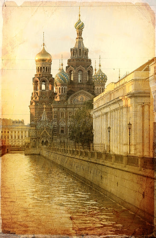 Savior On Spilled Blood, St. Petersburg, Russia Stock Photos