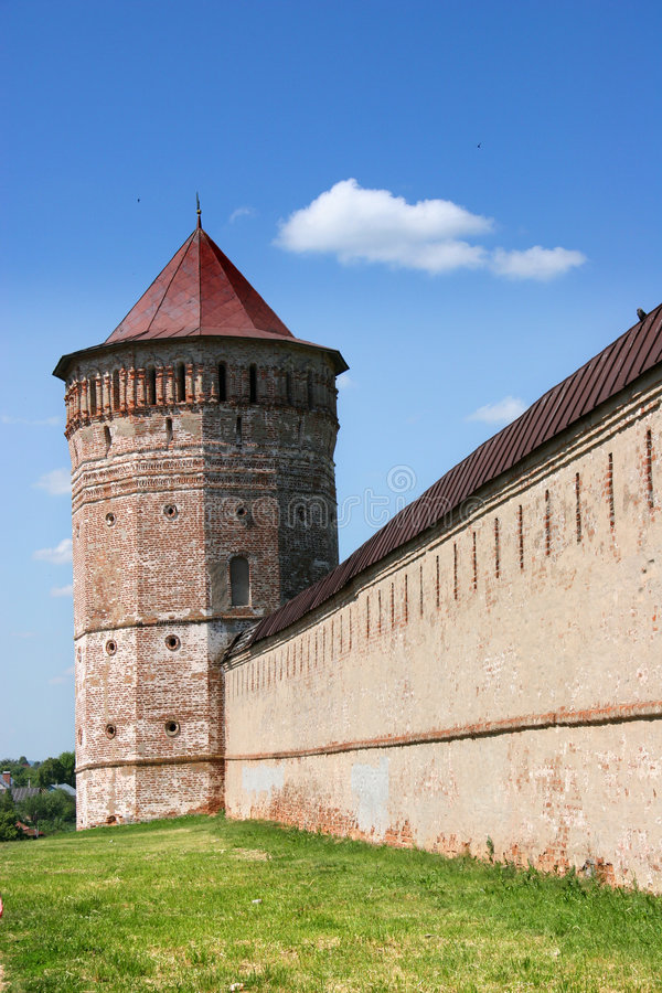 Saviour Monestry at Suzdal stock photos