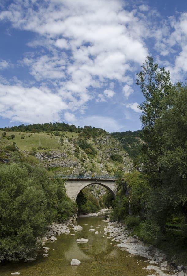Savnik Montenegro stockbilder