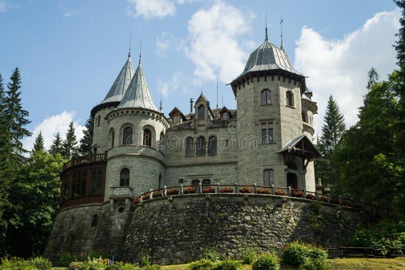 Savoia Castel,意大利 库存图片
