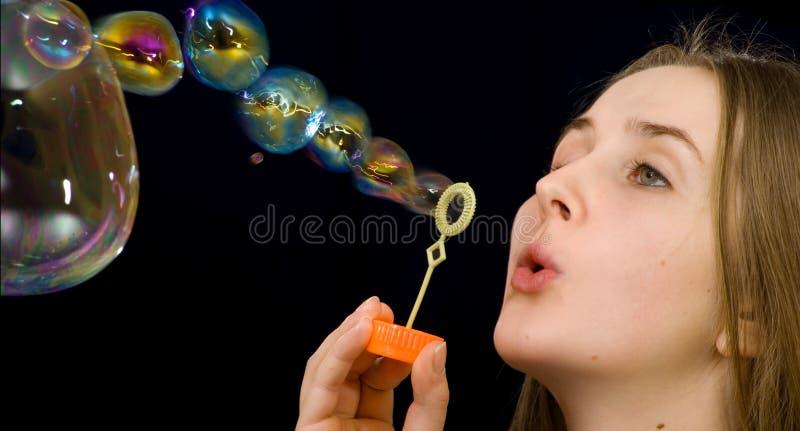 Savon-bulles photo libre de droits