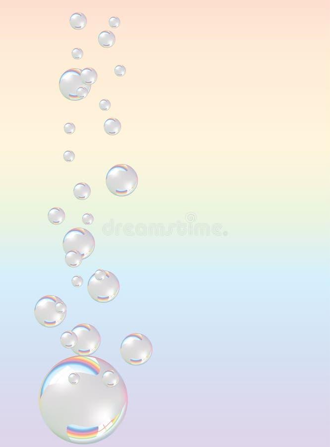 savon de bulles illustration de vecteur