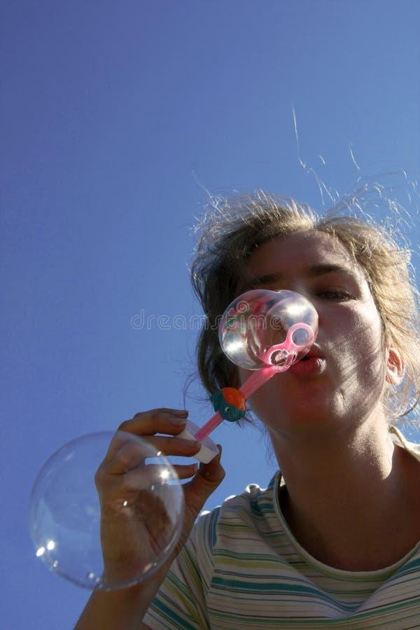 savon de bulles image stock