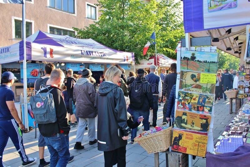 Savon de Provence on the International Street Market royalty free stock photo