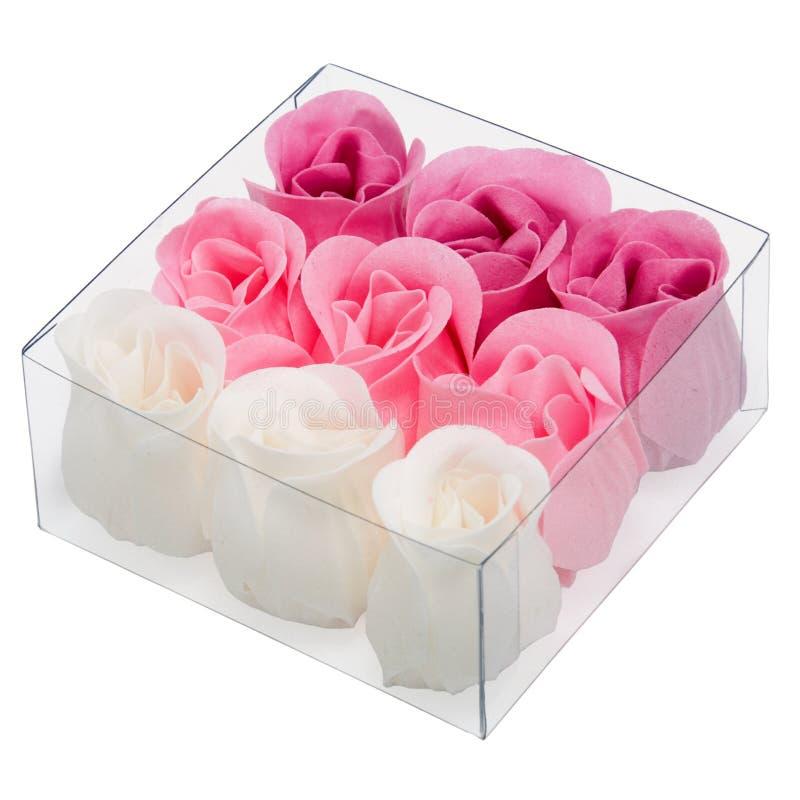 Savon rose photo stock