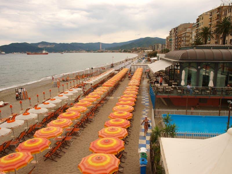 Savona beach view royalty free stock photo