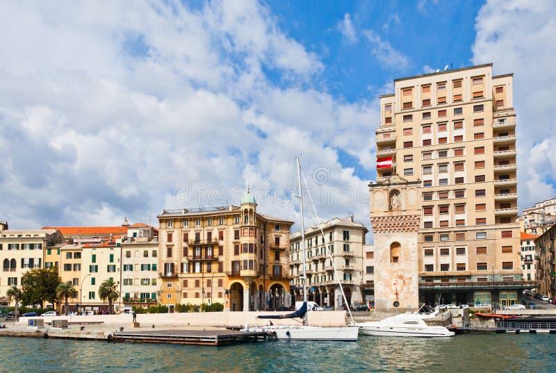 Savona, Liguria, Italy stock image