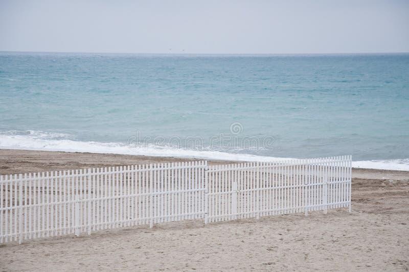 Savona plaża z widokami plażowi założenia fotografia royalty free
