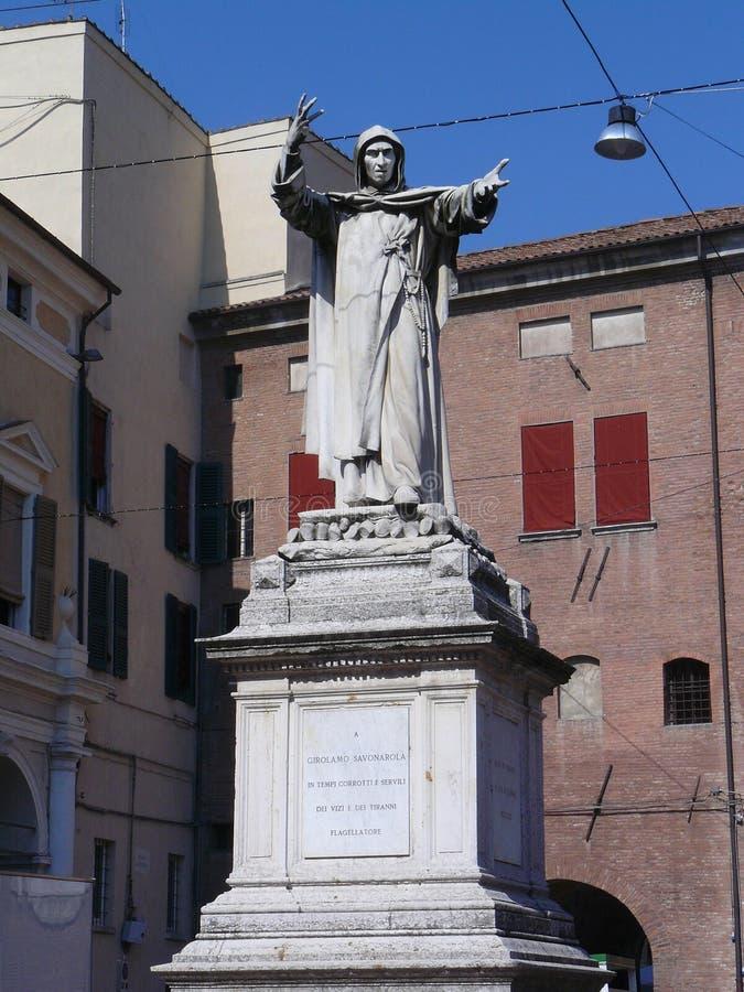 Savonarola fotografie stock