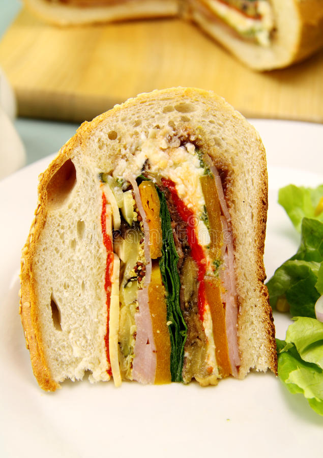 Download Savory Cob Loaf Slice stock photo. Image of natural, meal - 10349674