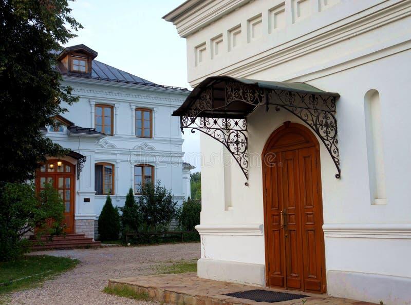 Savvino-Storozhevsky修道院metochion在Zvenigorod 免版税库存照片