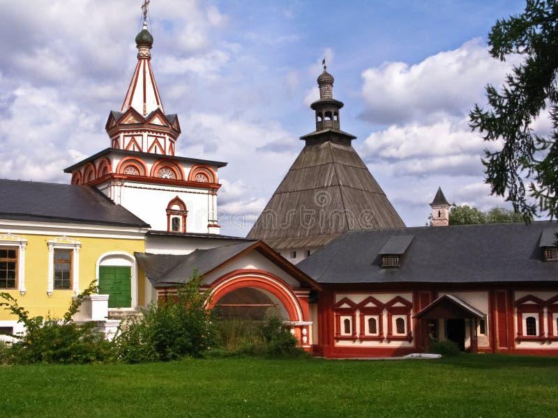 Savvino-Storozhevsky monastery. Russia royalty free stock photo