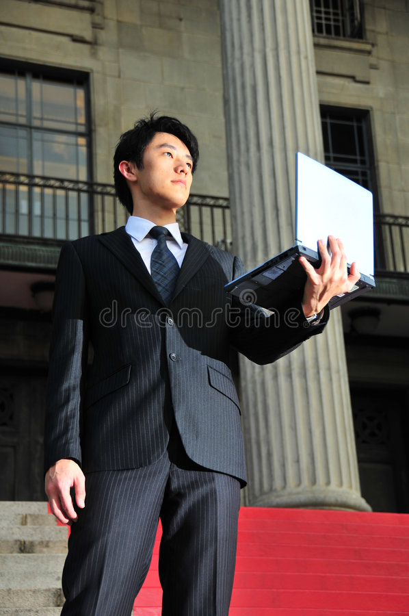 Savvy Asian Executive 5 stock images